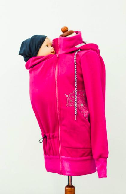 Hoodie Angelwings Pink   Ô BONHEUR DE BEBE 39b15b223e1