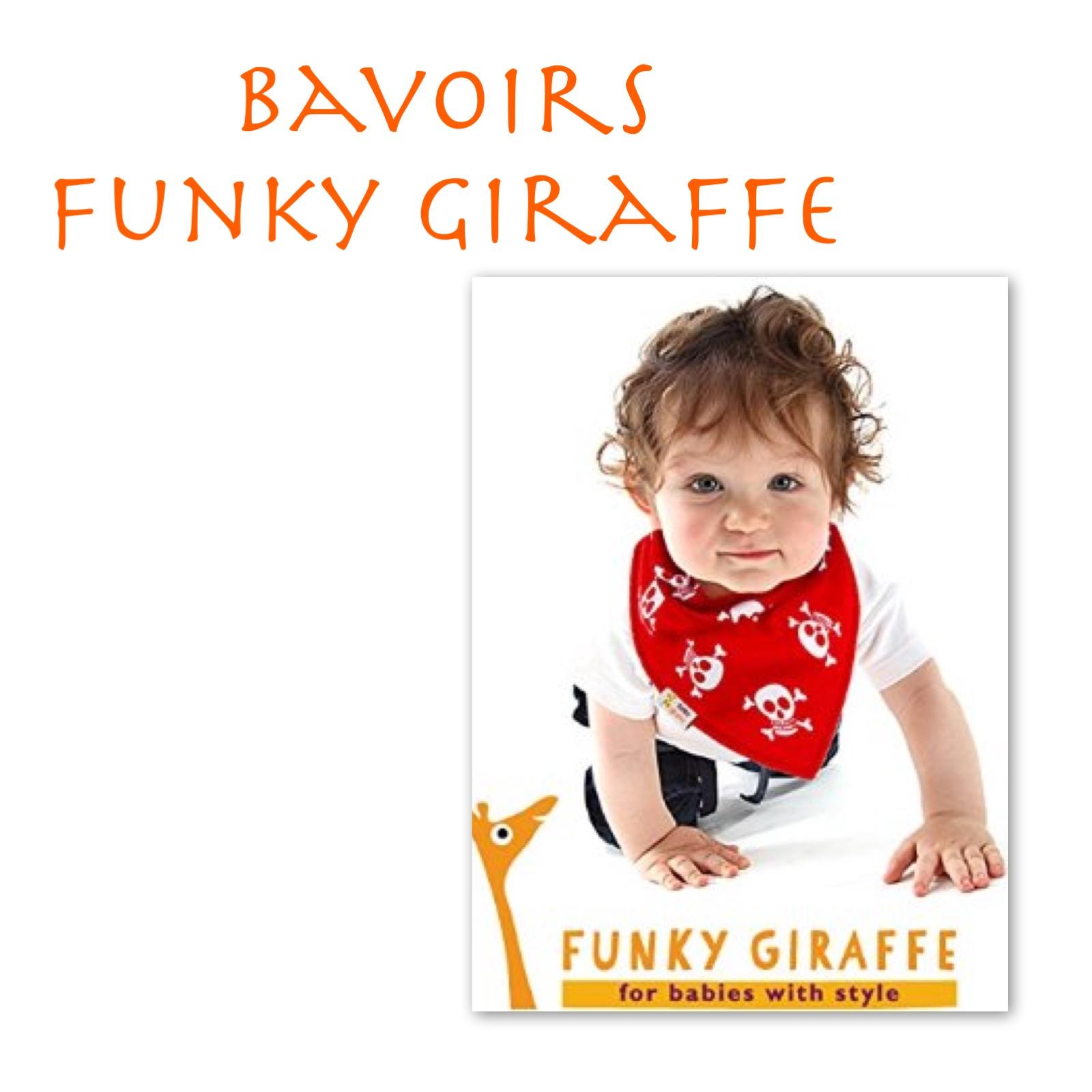 Bavoirs Funky Giraffe