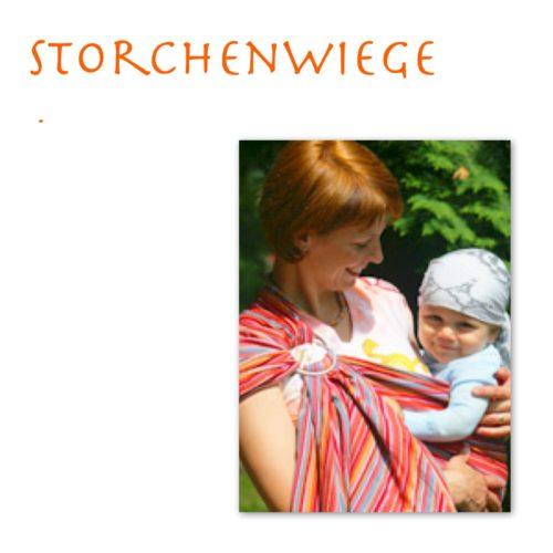 Storchenwiege sling