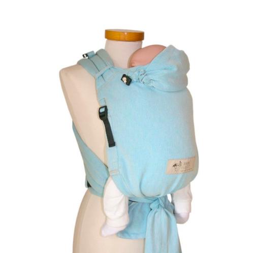 Babycarrier Storchenwiege hybride – Noir-blanc   Ô BONHEUR DE BEBE 6977298d557