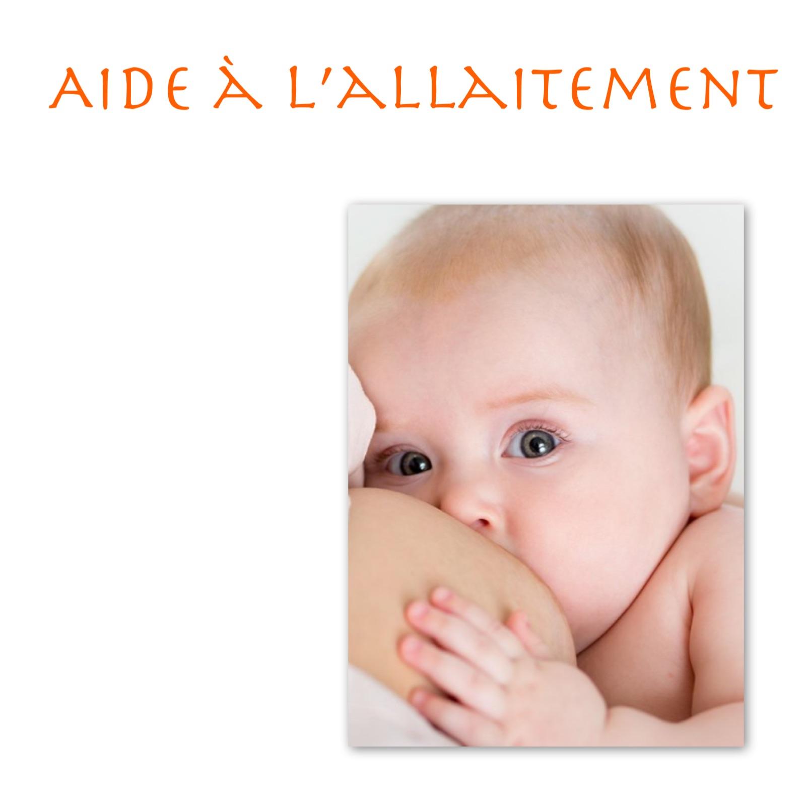 Aide à l'allaitement