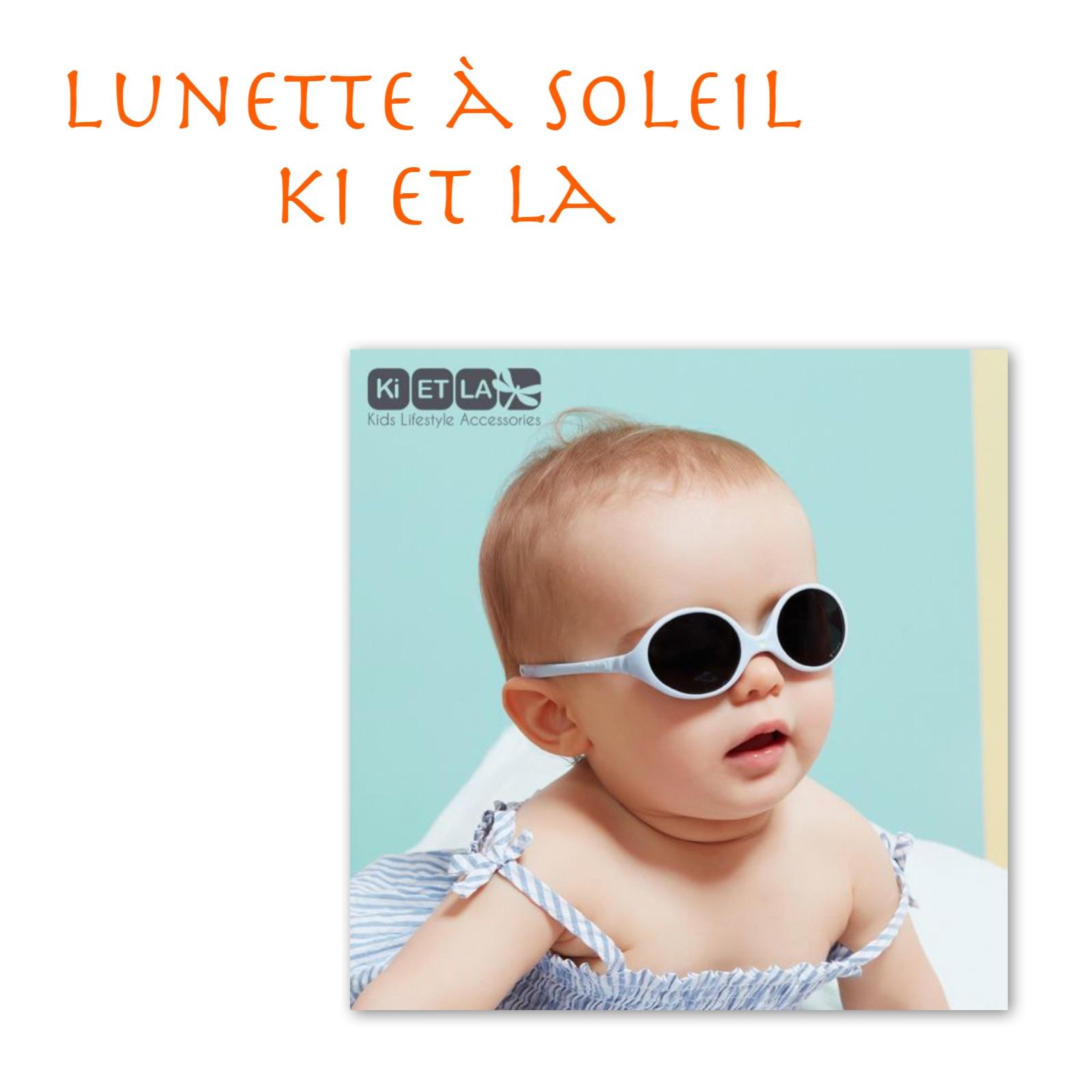 """Lunette à soleil """" Ki et La """""""