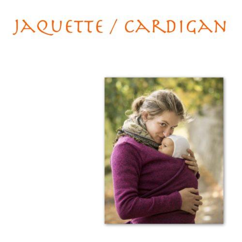 Jaquette / cardigan / polaire