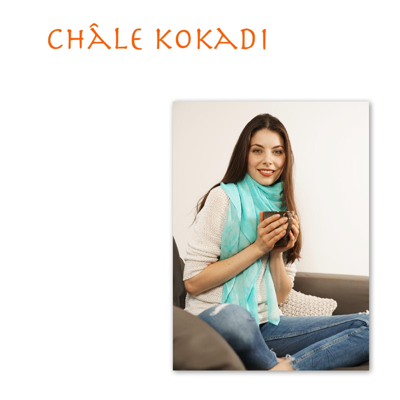 Châle Kokadi