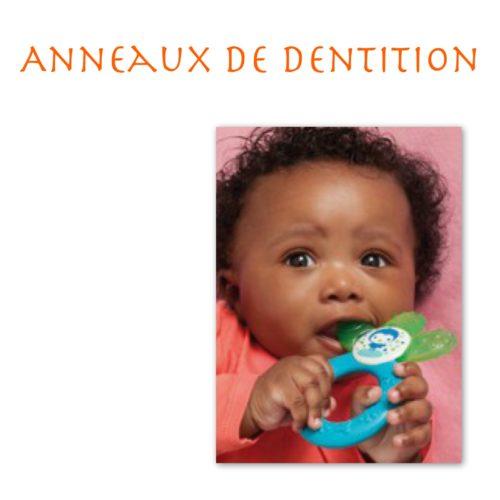 Anneaux de dentition