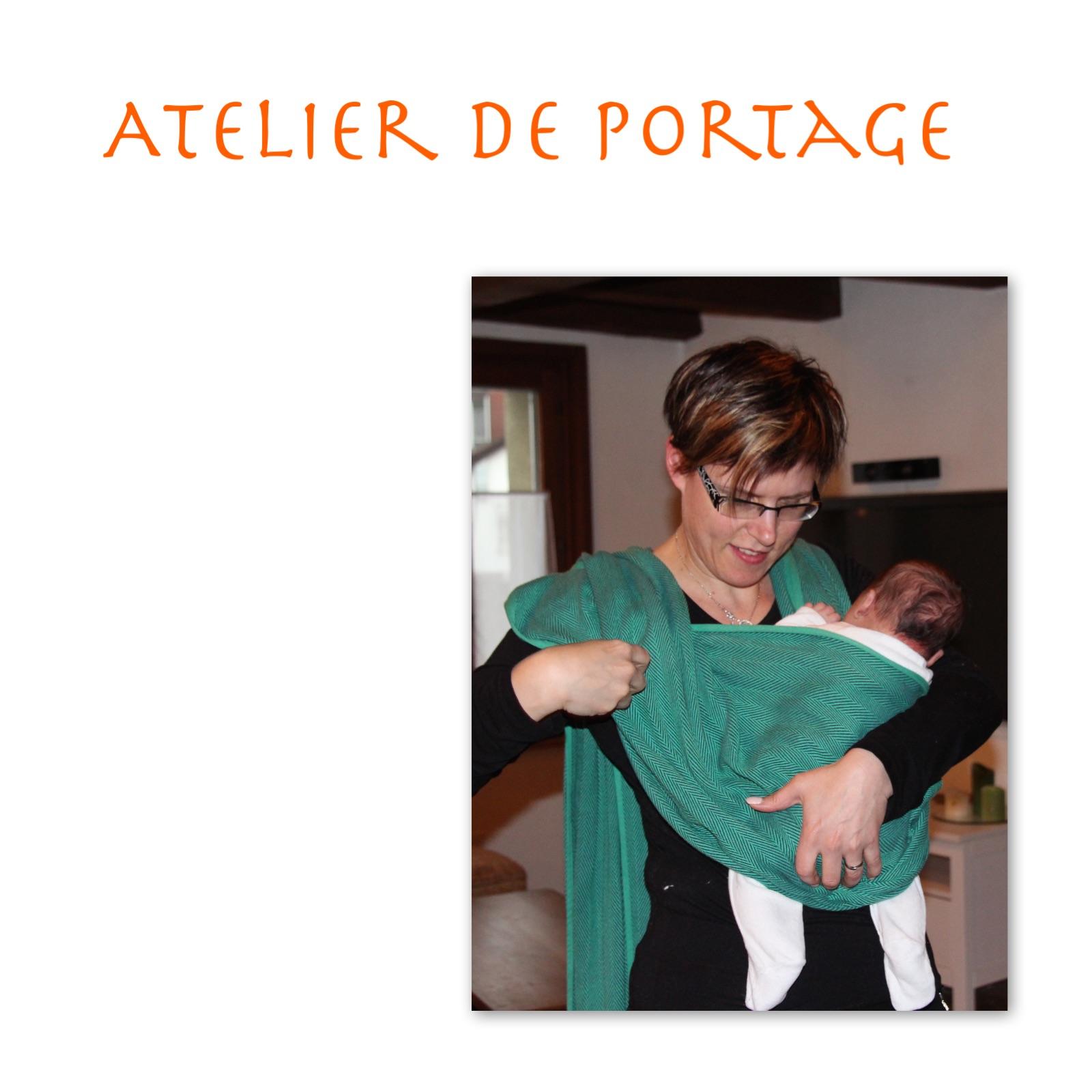 Atelier de portage / massage bébé