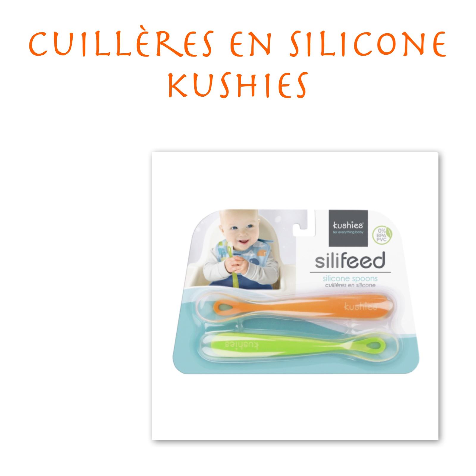 Cuillères en silicone