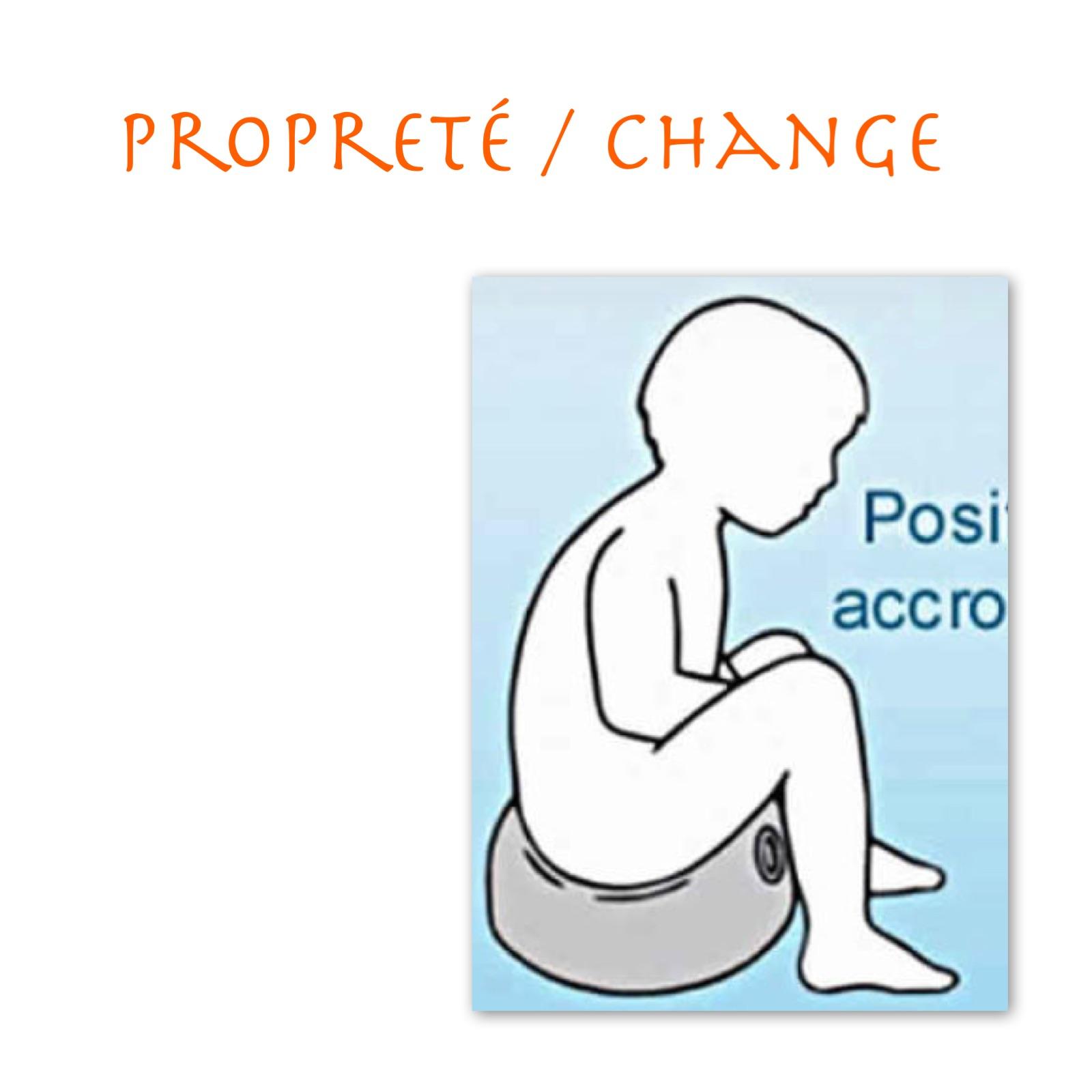 Propreté / Change