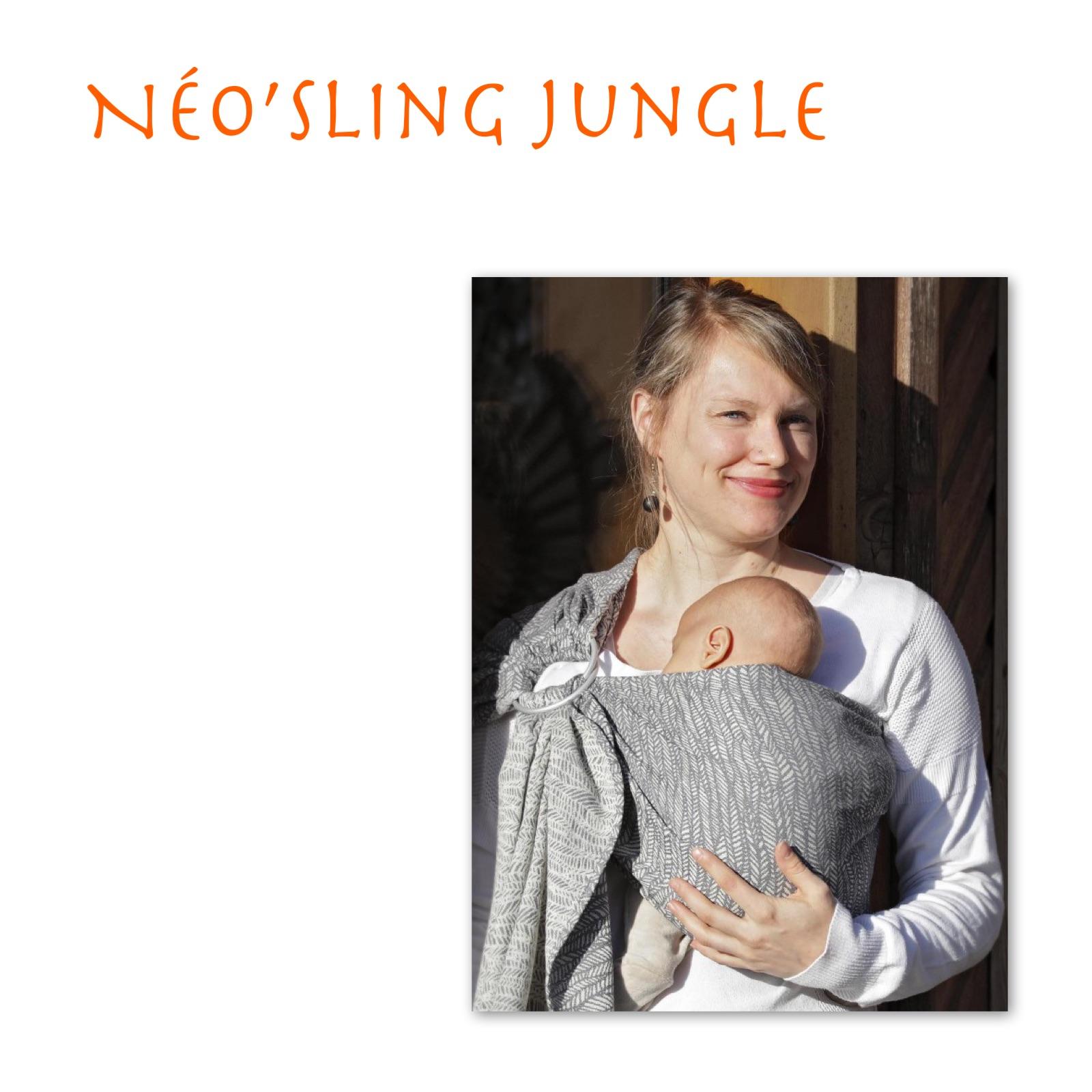 be9b1ce6d2bc Néo sling Jungle   Catégories de produits   Ô BONHEUR DE BEBE