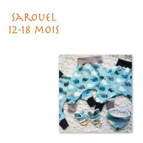 Sarouel 12-18 mois