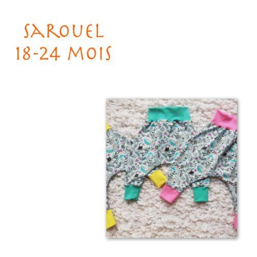 Sarouel 18-24 mois