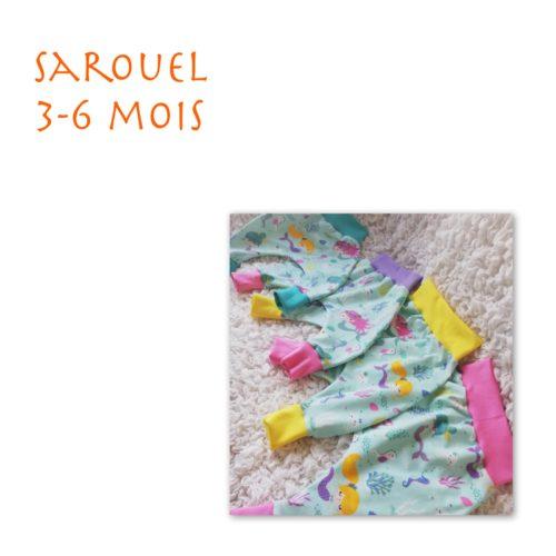 Sarouel 3-6 mois