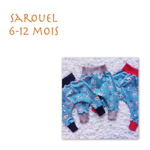 Sarouel 6-12 mois