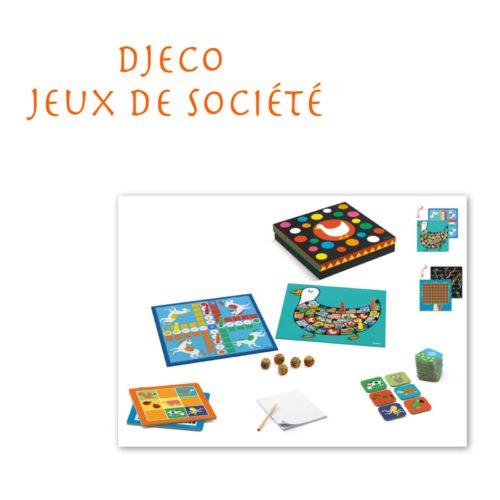 Djeco - Jeux de Société