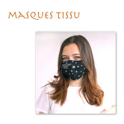 Masques en tissu