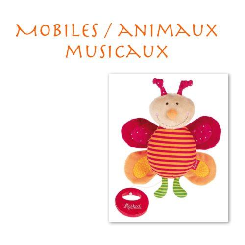 Mobiles / Animaux Musicaux