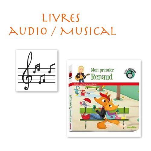 Livres Audio / Musical