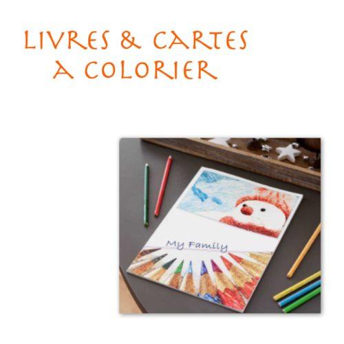 Livres / cartes à colorier